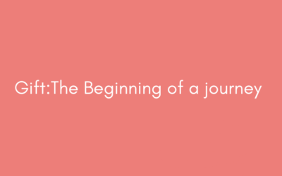 Gift : The Beginning of a Deep Journey