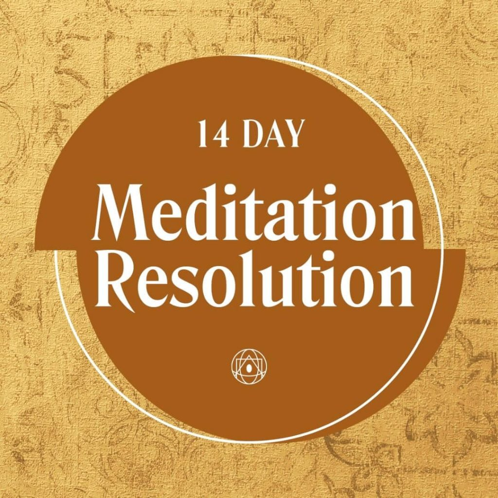 Meditation Resolution