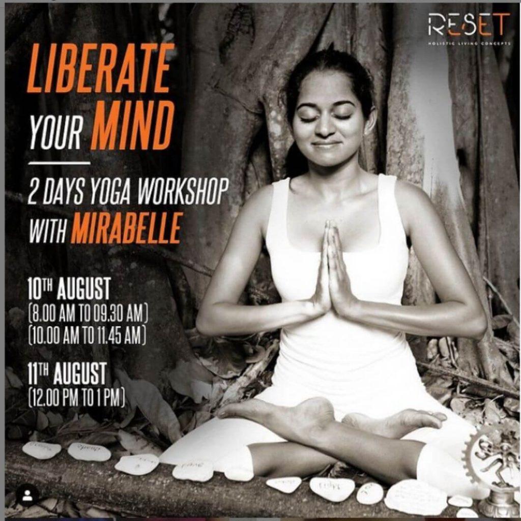 Workshops for Luke Coutinho, Reset India