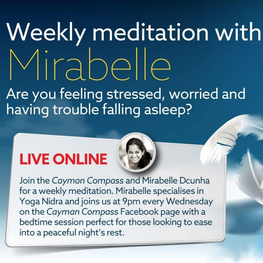 Weekly meditation with Mirabelle